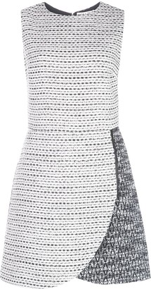 Alice + Olivia Woven Mini Shift Dress