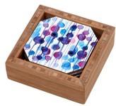 DENY Designs Abstract Coaster Set & Tray