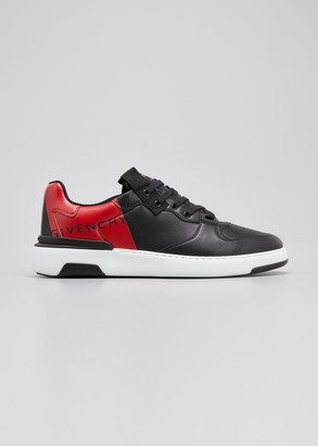 Givenchy Men's Wing Logo Low-Top Sneakers