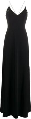 Emilio Pucci Sequin Detail Slip Dress