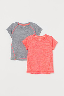 H&M 2-Pack Sports Tops