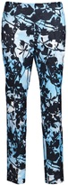 tree print ankle trouser