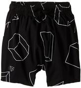 Nununu Geometric Baggy Surf Shorts (Infant/Toddler/Little Kids)