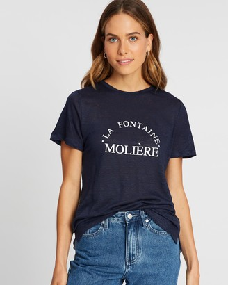 Elka Collective La Fontaine Moliere Linen Tee