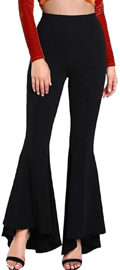 44703c47ac Wide Leg Elasticated Waist Trousers - ShopStyle Canada