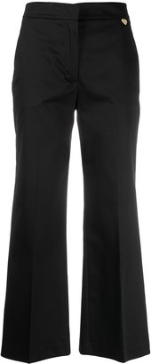Twin-Set Cropped Bootcut Trousers