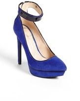 Jessica Simpson 'Violla' Ankle Strap Pointy Toe Pump