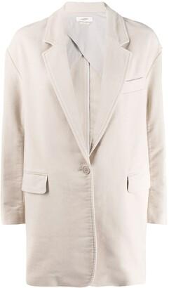 Etoile Isabel Marant Fitted Single-Breasted Blazer