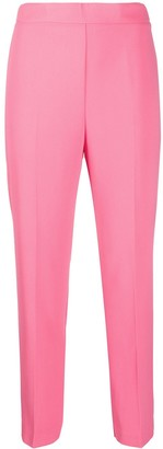 Pinko Cropped Straight Leg Trousers