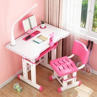 """Isabelle & MaxTM Raiden Study 27.56"""" W Writing Desk and Chair Set Isabelle & Max"""