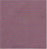Armani Collezioni Micro Chevron Silk Pocket Square