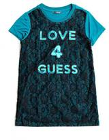 GUESS Lace Graphic Tee (7-16)
