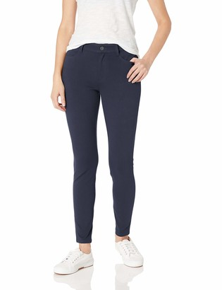 Amazon Essentials Women's Mid-Rise Skinny Stretch Knit Jegging