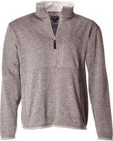 Oatmeal Heather Quarter-Zip Pullover - Men's Regular