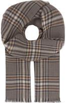 Eton Reversible Printed Merino Wool Scarf