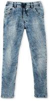 Diesel Boys 8-20) Acid Wash Tapered Jeans