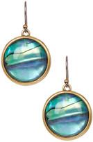 Lucky Brand Abalone Single Drop Earrings