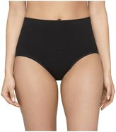 Yummie by Heather Thomson Mina Cotton Smoothing Briefs - Black-M/L