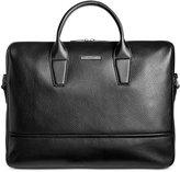 HUGO BOSS Men's Leather Element Workbag