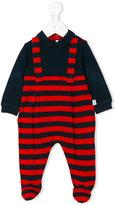 Il Gufo striped layered pyjamas