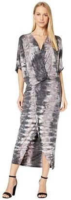 Young Fabulous & Broke Luana Dress (Amethyst Ikat Wash) Women's Dress