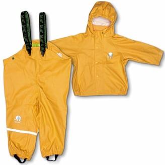 CeLaVi Baby Girls Zweiteiliger Regenanzug in Vielen Farben Waterproof Jacket