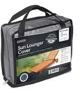 Gardman Sun Lounger Cover - Grey