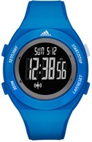 adidas Men's 42mm Blue Silicone Band Polyurethane Case Quartz Watch Adp3217