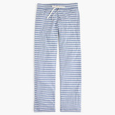 J.Crew Dreamy cotton pant in stripe