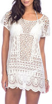 Polo Ralph Lauren Scoopneck Short-Sleeve Lace Tunic