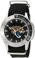 Game Time Men's NFL-STA-JAC Starter Analog Display Japanese Quartz Black Watch
