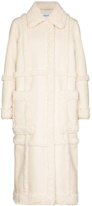 Stand Studio Patrice faux shearling coat