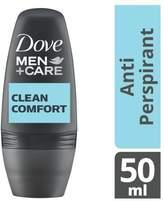 Dove Men+Care Clean Comfort Roll-On Deodorant 50ml