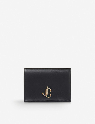 Jimmy Choo Myah bi-fold leather card holder