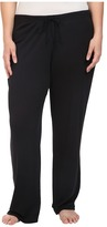 Yummie by Heather Thomson Plus Size 2x1 Pima Rib Wide Leg Pants