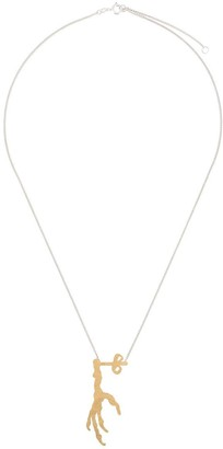 Wouters & Hendrix I Play talon charm necklace