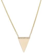 Ariel Gordon Triangle Geo Necklace