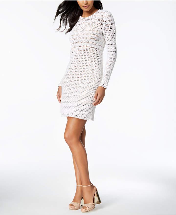 Michael Kors MICHAEL Crochet Sweater Dress