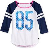 Tommy Hilfiger Graphic-Print Raglan T-Shirt, Big Girls (7-16)