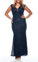 Layla Jones Long Sequin Gown