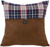 HIEND ACCENTS HiEnd Accents South Haven Blue Plaid Envelope Decorative Pillow