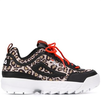 Fila Leopard Print Sneakers