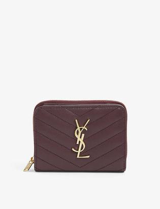 Saint Laurent Monogram quilted leather wallet