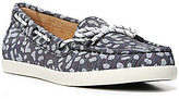 Naturalizer Ginnie Fabric Lace Up Detail Slip-On Moccasins