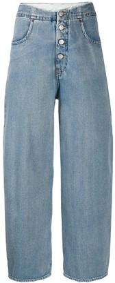 MM6 MAISON MARGIELA cocoon shape jeans
