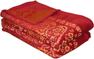Ibena Indore Jacquard Full/Queen Bed Blanket