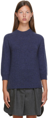 Max Mara Blue Wool Campo Sweater