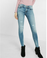 Express Eco-friendly Mid-rise Distressed Stretch Jean Legging