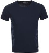 Nudie Jeans Glenn Crew Neck T Shirt Navy