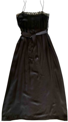 Eres Black Silk Dress for Women